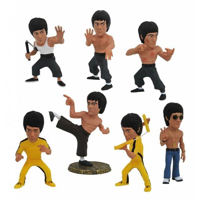 Diamond Select Toys Bruce Lee Complete D-Formz PVC Mini Figures 8 cm set (12)