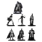 Batman Black & White PVC Minifigure 7-Pack Box Set #3