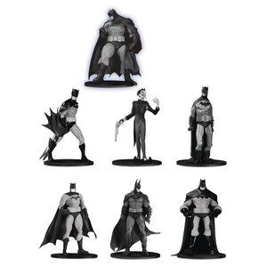 Batman Black & White PVC Minifigure 7-Pack Box Set #3 10 cm
