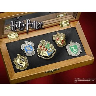 Noble Collection Pin Collection Hogwarts Houses (5)