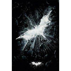 Batman Dark Knight Rises Poster Logo