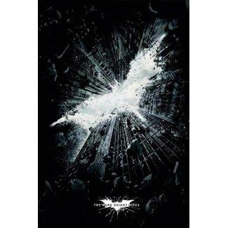 Dark Knight Rises Poster Logo