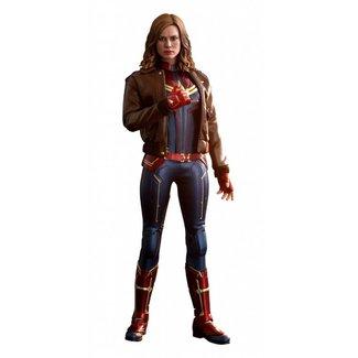 Hot Toys Captain Marvel Movie Masterpiece Action Figure 1/6 Captain Marvel Deluxe Ver. 29 cm