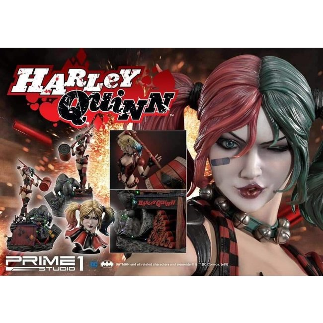 Prime 1 Studio Suicide Squad - Harley Quinn Statue with LED light