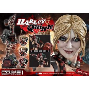 Suicide Squad - Deluxe Harley Quinn Statue with LED light