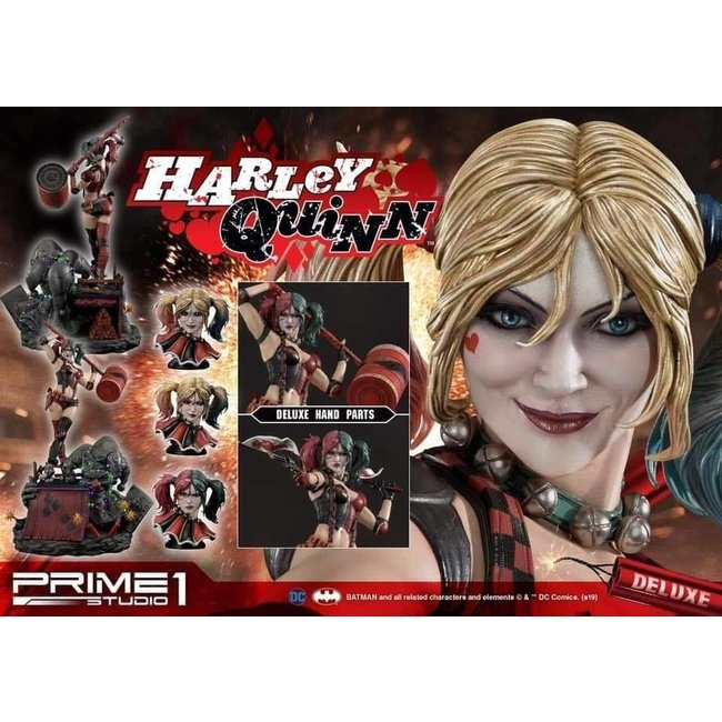Prime 1 Studio Suicide Squad - Deluxe Harley Quinn Statue with LED light