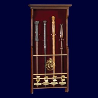 Noble Collection Harry Potter - Four Character Wand Display