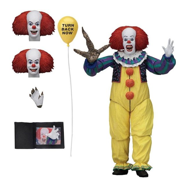 NECA  Stephen King's It 1990 Action Figure Ultimate Pennywise Version 2