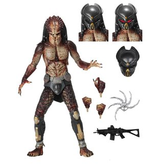 NECA  Predator 2018 Action Figure Ultimate Fugitive Predator (Lab Escape) 20 cm