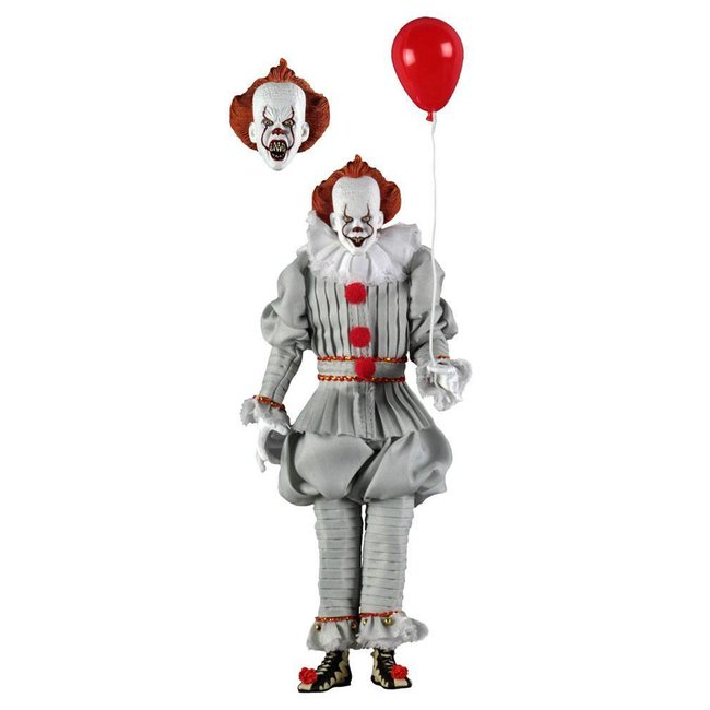 NECA  Stephen King's It 2017 Retro Action Figure Pennywise 20 cm