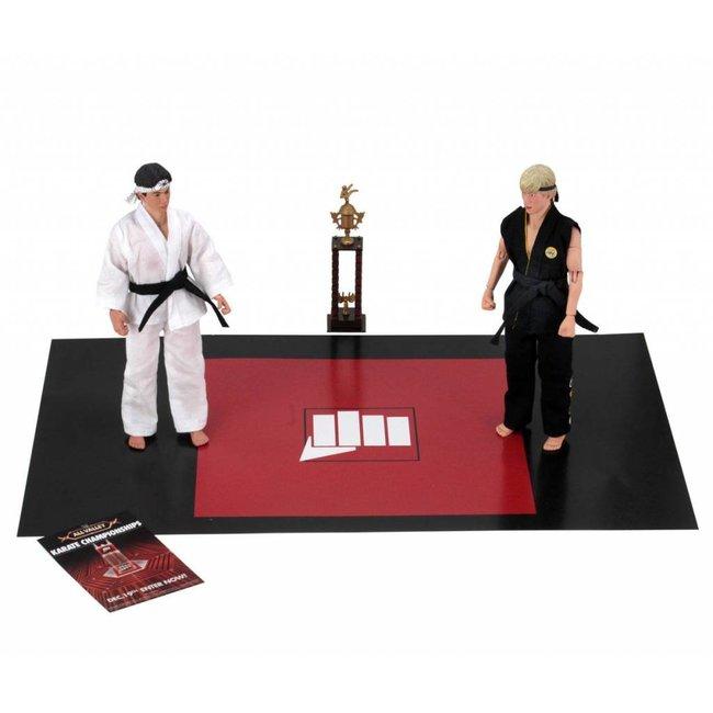 NECA  Karate Kid Retro Action Figure 2-Pack Tournament 20 cm