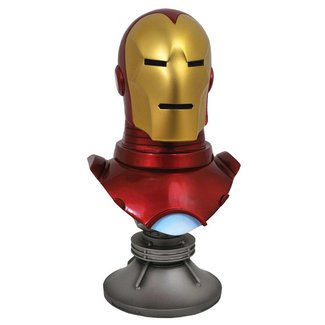 Diamond Select Toys Marvel Comics Legends in 3D Bust 1/2 Iron Man 25 cm