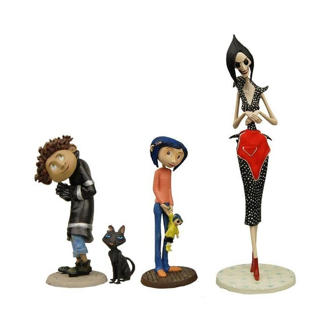 NECA  Coraline PVC Figures 4-Pack Best Of 3-14 cm