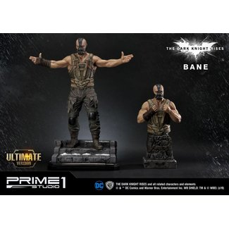 Prime 1 Studio The Dark Knight Rises Statue & Bust 1/3 Bane Ultimate Edition Set