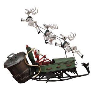 Nightmare before Christmas PVC Set Jack and Sleigh
