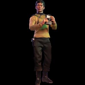 Star Trek TOS Master Series Action Figure 1/6 Hikaru Sulu 30 cm