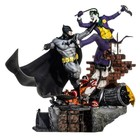 DC Comics Diorama 1/6 Batman vs Joker Battle by Ivan Reis 52 cm