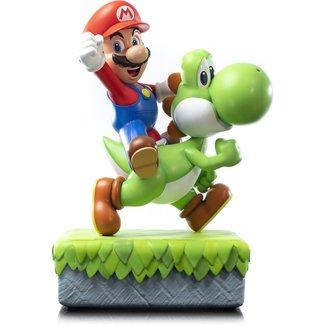 First 4 Figures Super Mario Statue Mario & Yoshi 48 cm