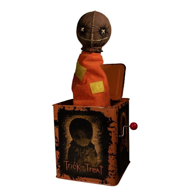 Mezco Toys Trick R Treat Burst-A-Box Music Box Sam 36 cm