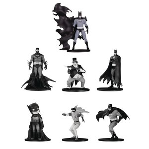 Batman Black & White PVC Minifigure 7-Pack Box Set #4