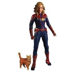 Captain Marvel Action Figure 1/12 Captain Marvel 16 cm