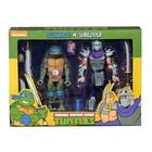 Teenage Mutant Ninja Turtles Action Figure 2-Pack Leonardo vs Shredder 18 cm
