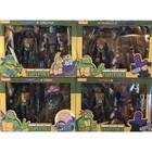 Teenage Mutant Ninja Turtles Action Figure 2-Pack Set (4)