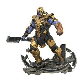 Diamond Select Toys Avengers: Endgame Marvel Movie Milestones Statue Armored Thanos 41 cm