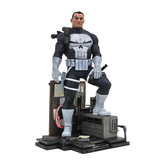 Diamond Select Toys Marvel Comic Gallery PVC Diorama The Punisher 23 cm
