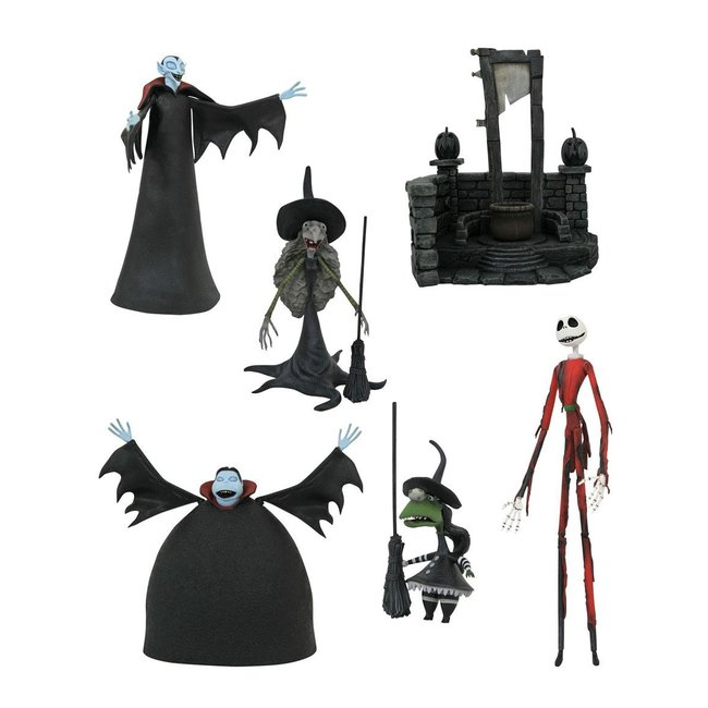 Diamond Select Toys Nightmare before Christmas Select Action Figures 18 cm Series 8
