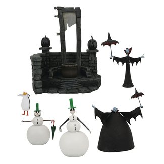 Diamond Select Toys Nightmare before Christmas Select Action Figures 18 cm Series 7