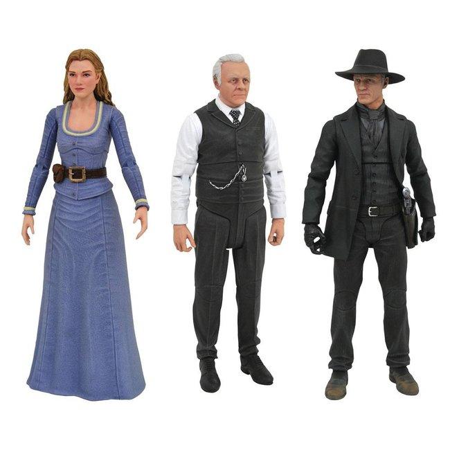 Westworld Select Action Figures 18 cm Series 1 (3)