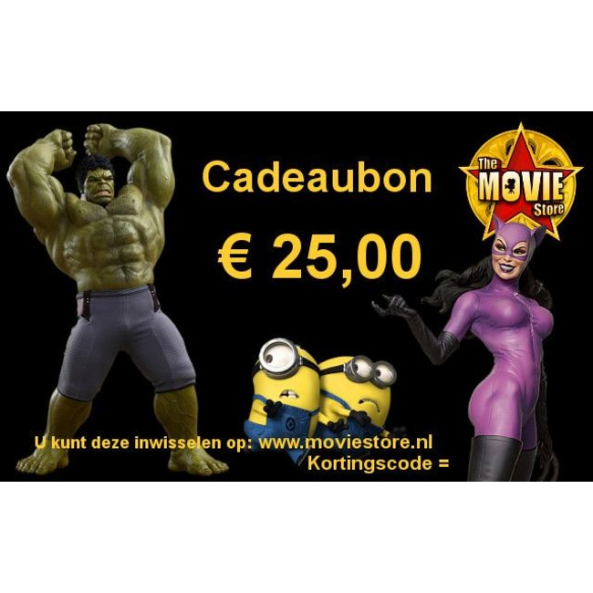 Gift Certificate € 25.00