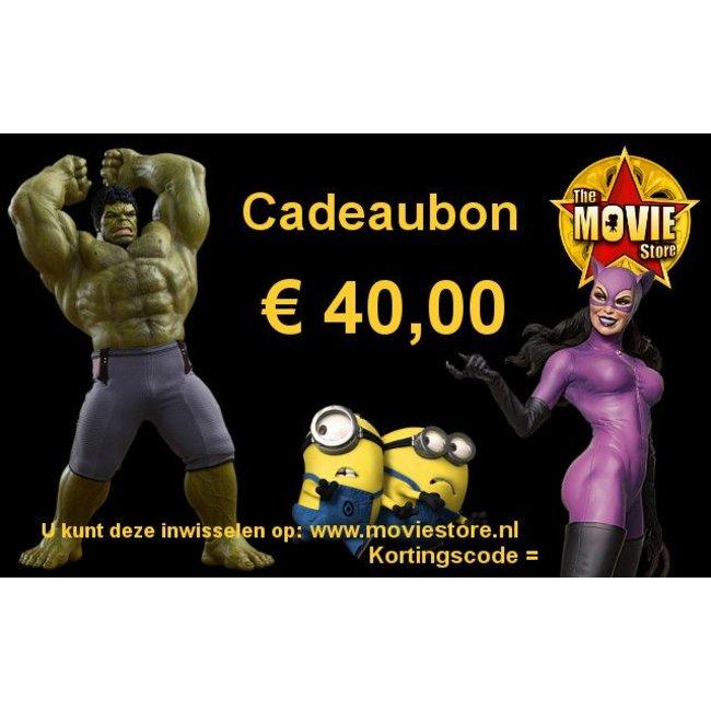 Geschenkgutschein € 40,00