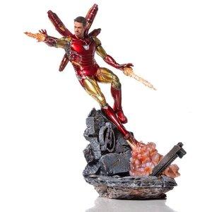 Avengers Endgame BDS Art Scale Statue 1/10 Iron Man Mark LXXXV Deluxe Version 29 cm