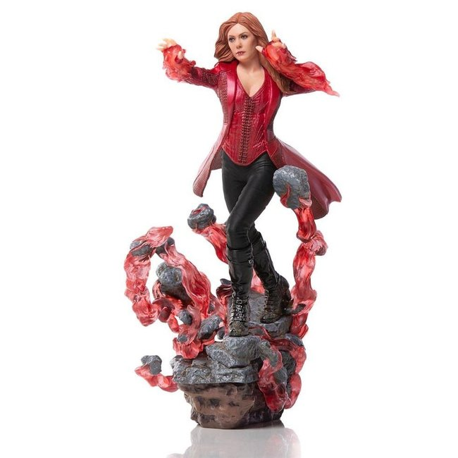 Iron Studios Avengers: Endgame BDS Art Scale Statue 1/10 Scarlet Witch 21 cm