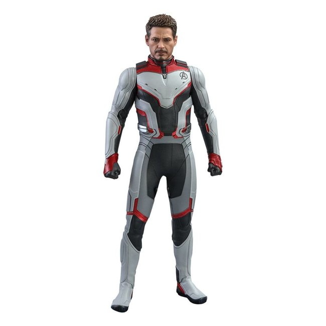 Hot Toys Avengers: Endgame Movie Masterpiece Action Figure 1/6 Tony Stark (Team Suit) 30 cm