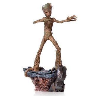 Iron Studios Avengers: Endgame BDS Art Scale Statue 1/10 Groot 24 cm