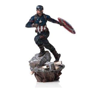 Avengers: Endgame Deluxe BDS Art Scale Statue 1/10 Captain America 21 cm
