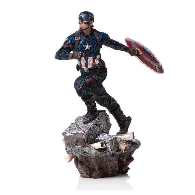 Iron Studios Avengers: Endgame Deluxe BDS Art Scale Statue 1/10 Captain America 21 cm