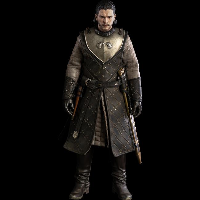 ThreeZero Game of Thrones Action Figure 1/6 Jon Snow (Season 8) 29 cm