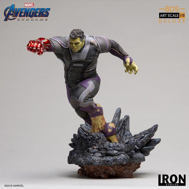Iron Studios Avengers: Endgame BDS Art Scale Statue 1/10 Hulk Deluxe Ver. 22 cm