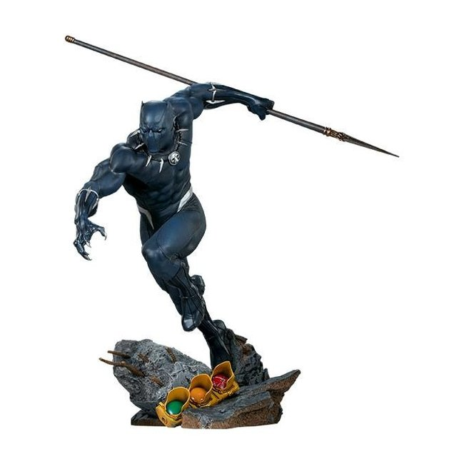 Sideshow Collectibles Avengers Assemble Statue 1/5 Black Panther 41 cm