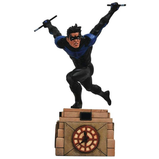 Diamond Select Toys DC Comic Gallery PVC Diorama Nightwing 23 cm
