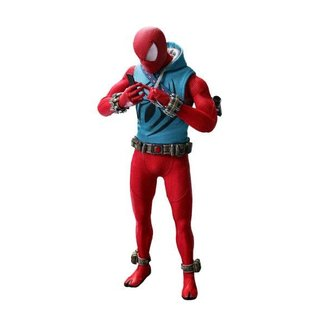 Hot Toys Marvel's Spider-Man VGM Action Figure 1/6 Scarlet Spider Suit 2019 Toy Fair Exclusive 30 cm