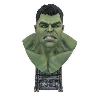 Diamond Select Toys Thor: Ragnarok Legends in 3D Bust 1/2 Hulk 25 cm