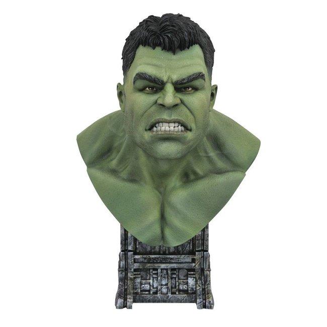 Diamond Select Toys Thor: Ragnarok Legends in 3D Bust 1/2 Hulk 25 cm