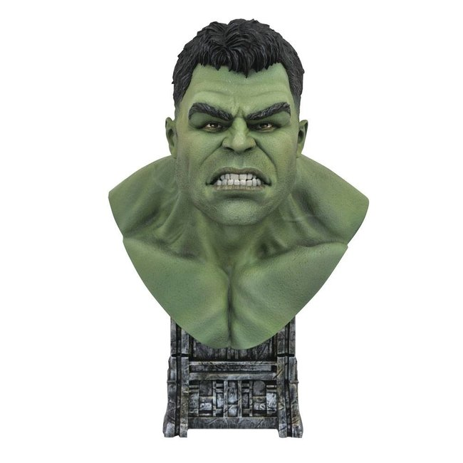 Thor: Ragnarok Legends in 3D Bust 1/2 Hulk 25 cm