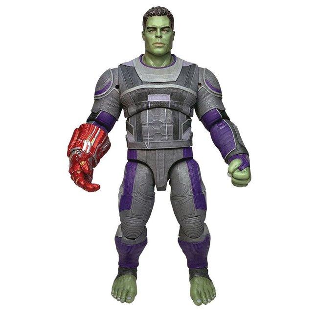 Diamond Select Toys Avengers: Endgame Marvel Select Action Figure Hulk Hero Suit 23 cm