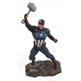 Diamond Select Toys Avengers Endgame Marvel Gallery PVC Statue Captain America 23 cm